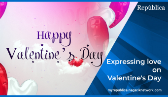 Expressing love on Valentine's Day