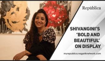 Shivangini's 'Bold and Beautiful' on display