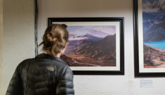 Photo exhibition 'Ways of the Mountains' on display