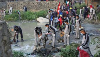 Bishnumati River cleaning campaign begins