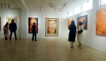 Annual art exhibition by Alfresco on display