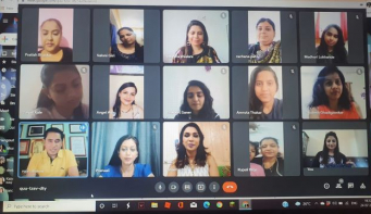 Nepali Fashion Choreographer Rojin Shakya conducts virtual grooming session for Miss & Mrs Heritage India 2021