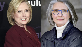 Hillary Clinton and Louise Penny co-writing mystery novel