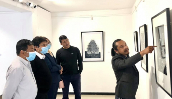 Kabi Raj Lama's 'Cycles of Impermanence' concludes