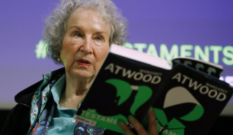 Margaret Atwood honored with Dayton Literary Peace Prize
