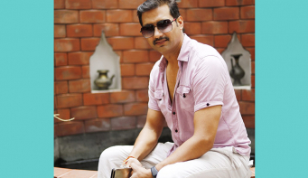 Nikhil Upreti in folk music video