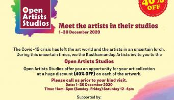 """KAG all set for """"Open Artist Studios"""""""