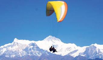 Five adventure sports to do in Pokhara this festive season