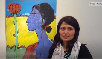 Pramila's 'Moments of life' on virtual display