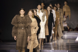 Kendall Jenner headlines London Fashion Week's Burberry show