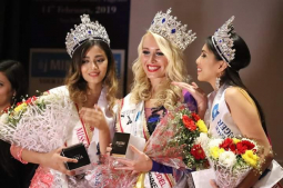 Aditi shines at international pageant