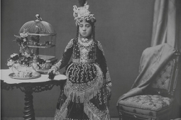 Nostalgia: Rana lady in this undated photograph