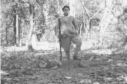 Nostalgia: Major General Madan Shumsher JBR, son of Chandra Shumsher, posing with his catch
