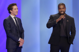 Kanye West talks about serving God during visit with Osteen