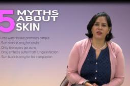 Dr Eliz Aryal debunking myths associated to skin