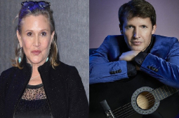 Carrie Fisher was inspirational, saw the funny side of everything: James Blunt