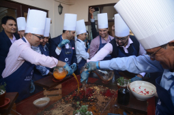 Merriment of yuletide ceremony at Hyatt Regency Kathmandu