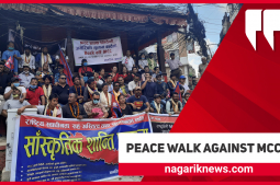 Citizen's Cultural Peace Walk for National Independence, Co-existence, and Good Governance (With video)