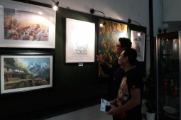 Art exhibition enhances Nepal-Russia friendship
