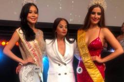 Nepali woman designs dresses for top ten finalists of Miss Grand Belgium