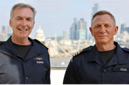 Actor Daniel Craig appointed honorary Royal Navy Commander