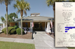 Diner leaves $10,000 tip for workers at Florida restaurant
