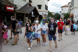 Mandatory masks, Mickey at a distance as Walt Disney World reopens