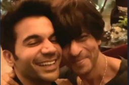 Rajkummar Rao has his fanboy moment with SRK