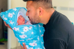 Durgesh and Prachi blessed with a baby boy
