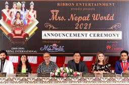 All set for 'Mrs Nepal World'