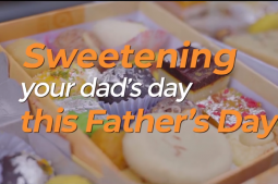 Sweetening your dad's day this father's day