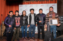 Prashanna Bhandari won the 'Mantra Guitar Competition 2019'