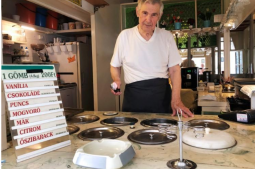 Flavours of ice cream maker, 87, makes Hungarians nostalgic
