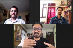 Virtual discussion on Art education
