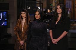 Kim Kardashian West pokes fun at famous family as SNL host