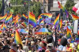 Warsaw gay pride parade back after backlash, pandemic