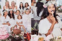 Mom-to-be Lisa Haydon shares baby shower photos