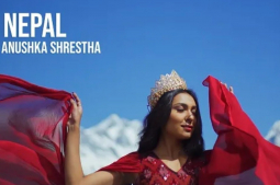 Miss Nepal World Anushka's introduction video garners 798,684 views on YouTube