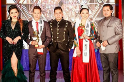 Rabin and Sajana win 'Model Superstar Nepal' season 2
