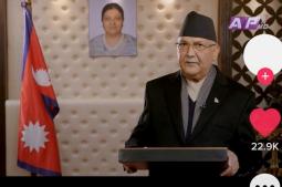 PM Oli joins TikTok