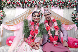 Actress Reecha ties knot with Deepeksha