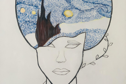 Medusa and the Starry night