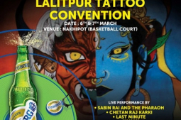 Gearing up for ' Tuborg Lalitpur Tattoo Convention 2020'