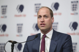Prince William urges men to open up on mental health issues