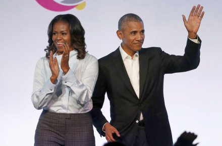 The Obamas deliver speeches during YouTube virtual ceremony