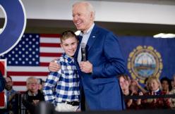 Teen whom Biden befriended as fellow stutterer has book deal