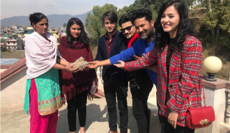 'Love Station' donated Rs 100,000 to Megha