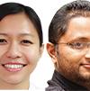 Anusa Thapa and Milan Pandey