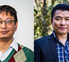 Binaya Pasakhala and Kesang Wangchuk