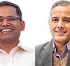Ngamindra Dahal and Bhagirath Yogi